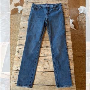 NYDJ Skinny legging jeans size 10